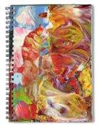 Blue Sky For Armageddon Spiral Notebook