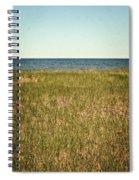 Blue Sky Green Grass Spiral Notebook