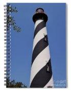Blue - Sky - Lighthouse Spiral Notebook