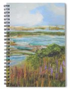 Blue Sky Over Fort Hill Spiral Notebook