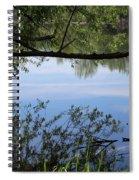 Blue Sky Reflection Spiral Notebook