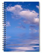 Blue Sky Reflections Spiral Notebook