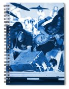Blue Skynyrd Smoke Spiral Notebook