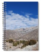 Blue Skys Over The Sandias Spiral Notebook
