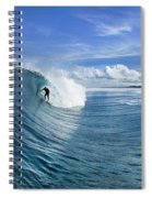 Blue Sling Spiral Notebook