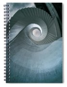 Blue Spiral Stairs Spiral Notebook