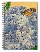 Blue Splendor Spiral Notebook