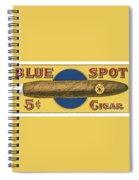 Blue Spot Cigars Spiral Notebook