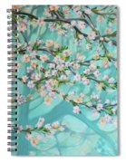 Blue Spring Spiral Notebook