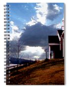 Blue Springs Landscape Spiral Notebook