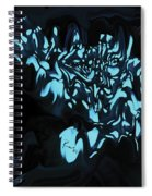 Blue Sprout 3 Spiral Notebook