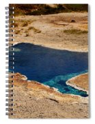 Blue Star Spring Spiral Notebook