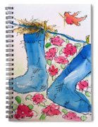 Blue Stockings Spiral Notebook
