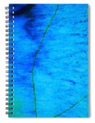 Blue Stone Abstract Spiral Notebook