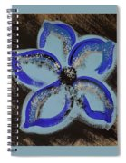 Blue Summer Spiral Notebook