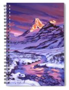 Blue Sunrise Spiral Notebook