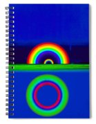 Blue Sunset Spiral Notebook