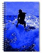 Blue Surf Spiral Notebook