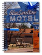 Blue Swallow Motel On Route 66 Spiral Notebook