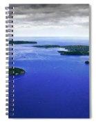Blue Sydney Harbour Spiral Notebook