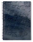 Blue Talk Spiral Notebook