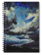 Blue Tempest Spiral Notebook
