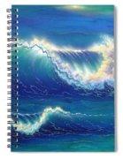 Blue Thunder Spiral Notebook