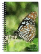 Blue Tiger Spiral Notebook