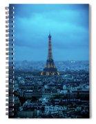 Blue Tower Spiral Notebook