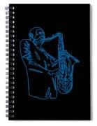 Blue Trane Spiral Notebook