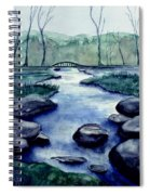 Blue Tranquility Spiral Notebook