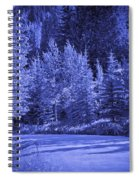 Blue Vail Spiral Notebook
