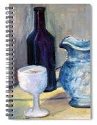 Blue Vases Spiral Notebook