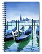 Blue Venice Spiral Notebook