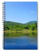 Blue Wall Lake Spiral Notebook