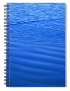 Blue Water And Shore Spiral Notebook