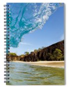 Blue Wave - Makena Beach Spiral Notebook