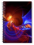Blue Whirlpool Spiral Notebook