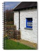 Blue Window Spiral Notebook