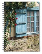 Blue Window Spiral Notebook