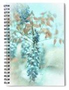 Blue Wisteria Spiral Notebook