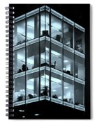 Blue Workplace Spiral Notebook