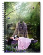 Bluebell Dreams Spiral Notebook