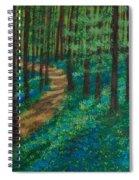 Bluebell Forest Spiral Notebook