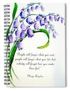 Bluebell  Spiral Notebook