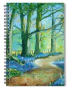 Bluebell Walk Spiral Notebook