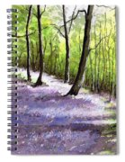 Bluebell Wood Spiral Notebook