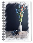 Blueberry Table Spiral Notebook