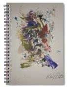 Bluebird Of Happiness Spiral Notebook