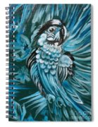 Bluebird Of Happiness Jenny Lee Discount Spiral Notebook